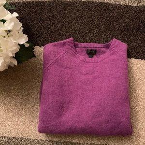 J. CREW! Violet Lamb's Wool Sweater